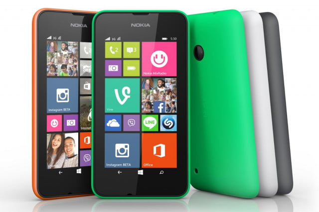 lumia  dollar smartphone range colors