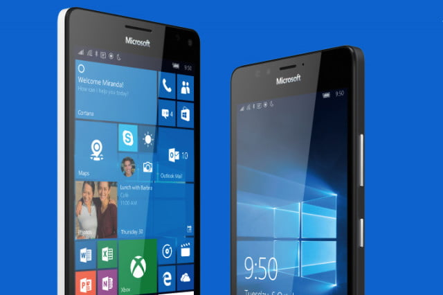 microsoft windows  mobile continuum apps support lumia xl front