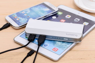 Lumsing Harmonica Style Portable Power Bank