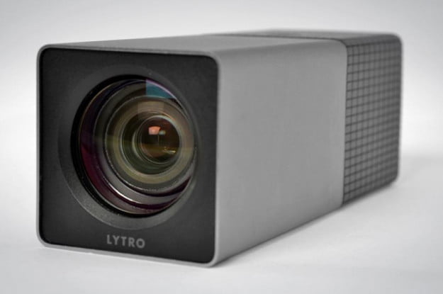 lytro camera review silver lens front light field camera