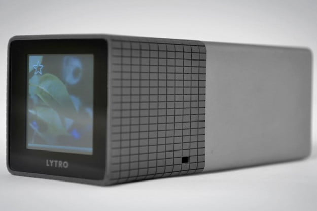 lytro camera review silver rear lcd touchscreen