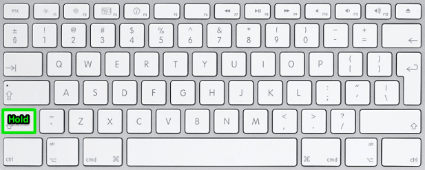 Screenshot keyboard shortcut 7