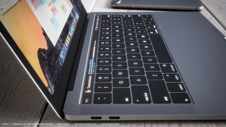 how will apples new macbooks stay competitive macbook  oled concept martin hajek
