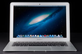 MacBook Air 2013 review front