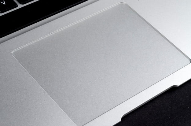 MacBook Air 2013 review trackpad