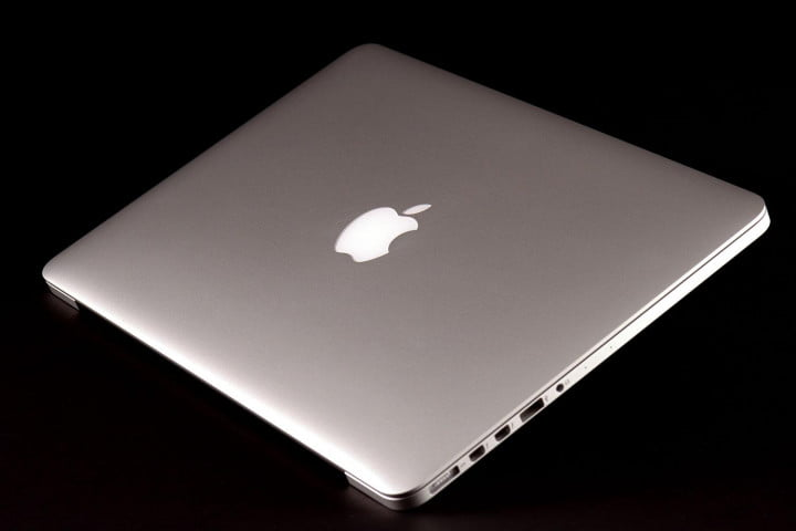 apple macbook pro  inch review back angle