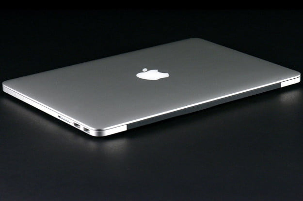 MacBook Pro 13 2013 back side angle
