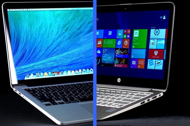 apple macbook pro  retina vs hp spectre t macpro vshpspectre