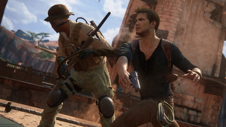 uncharted  hands on