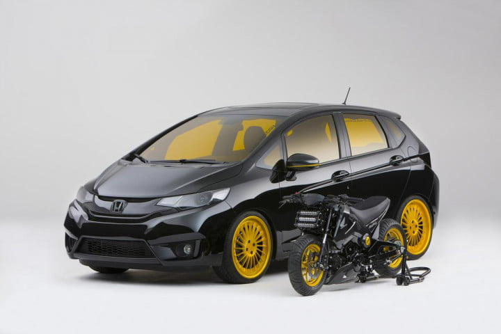honda fit sema  mad industries