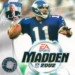 madden 02 game box dante culpepper
