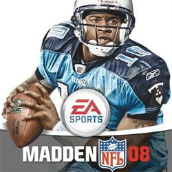 madden 08 vince young game box