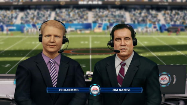 Madden 13 Simms and Nantz