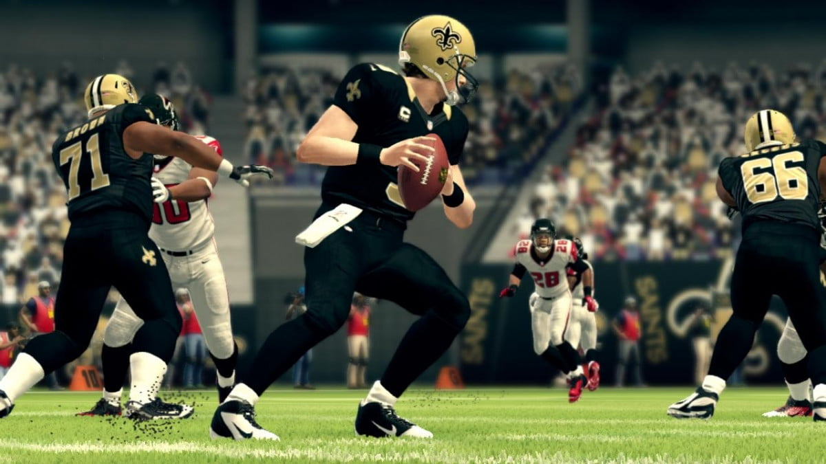 nfl week  madden preview and predictions drew brees
