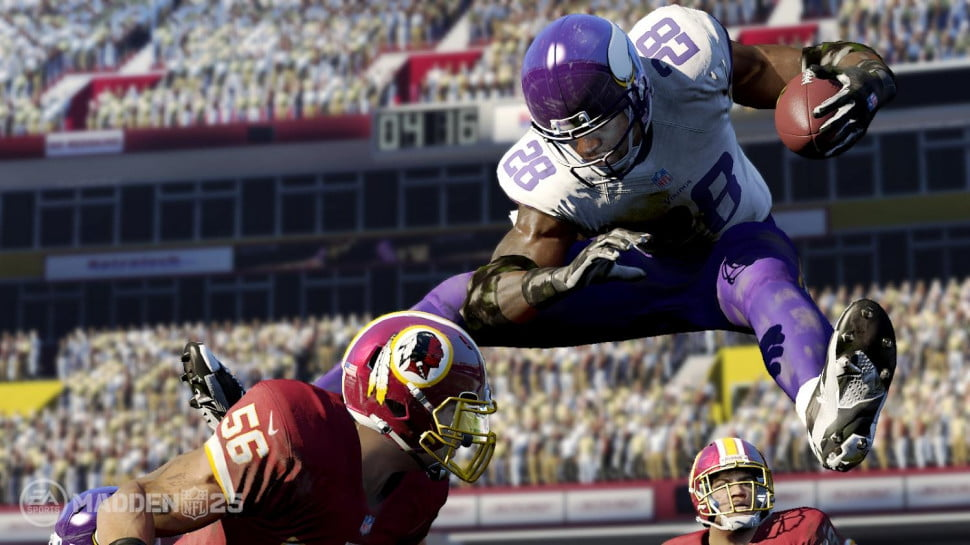 'Madden NFL 25' (EA Tiburon; EA) -  'Madden 25' originally debuted on PS3, Xbox 360, and with an iOS version on August 27, and will also appear on the Xbox One on November 22.