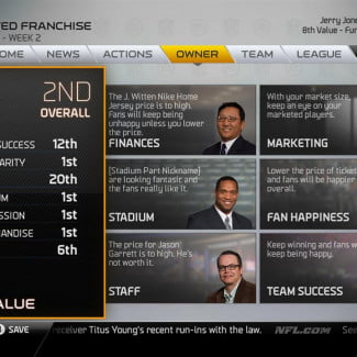 Madden NFL 25 Playbooks 3 and 4 Connected Franchise owner