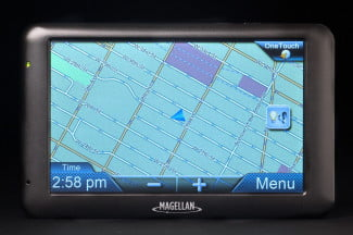 Magellan RoadMate 6230 LM front maps