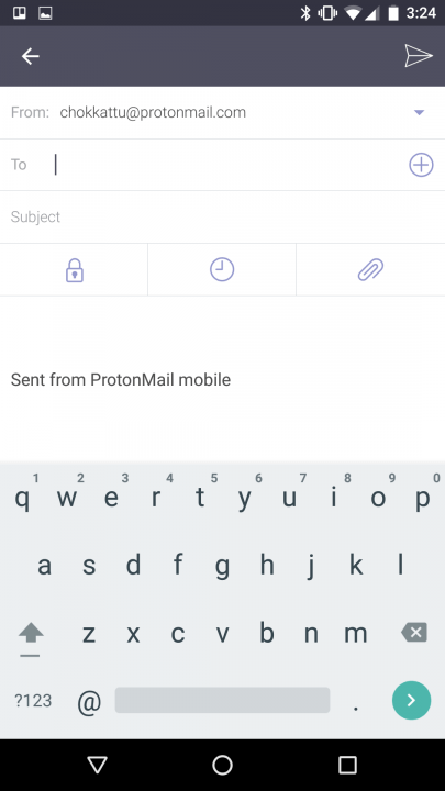 protonmail ios android launch mail