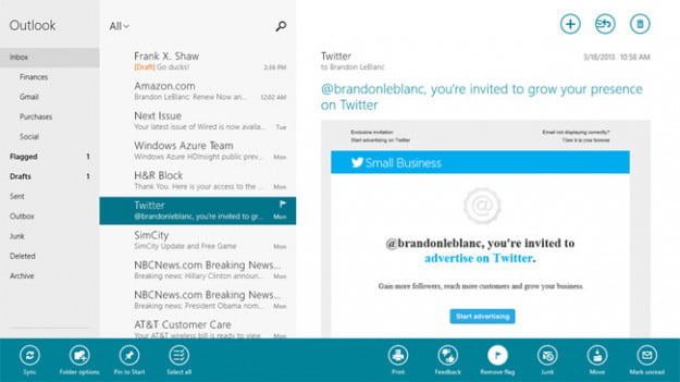 Microsoft to roll out Windows 8 Mail, Calendar, and People app updates | Digital Trends