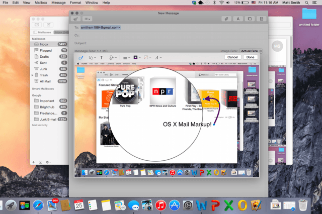 how to use mail markup in os x yosemite mailmarkup