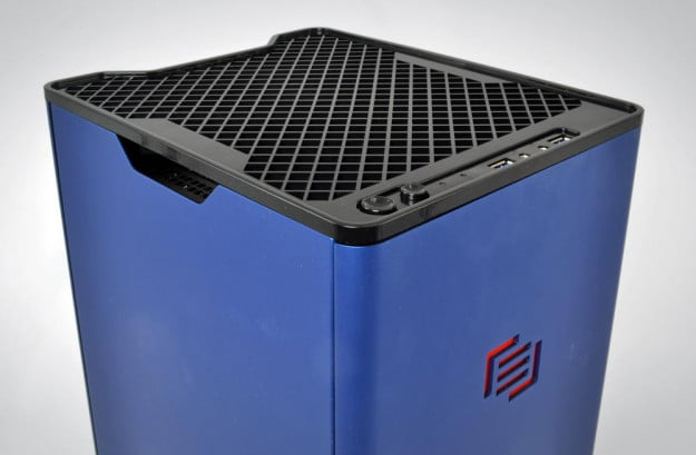 Maingear F131 review top grill tower gaming pc