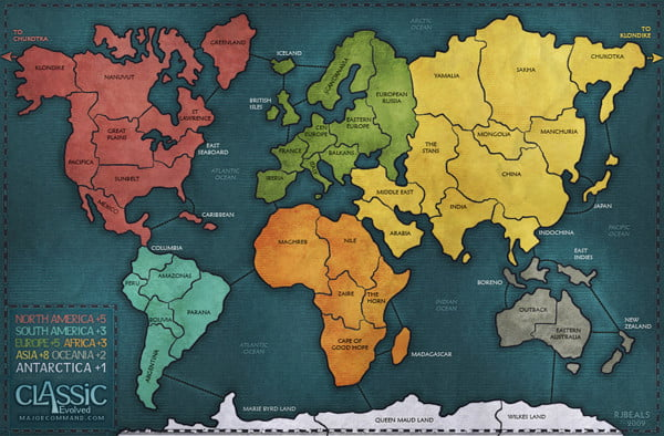 Where to Play Risk Online: Major Command