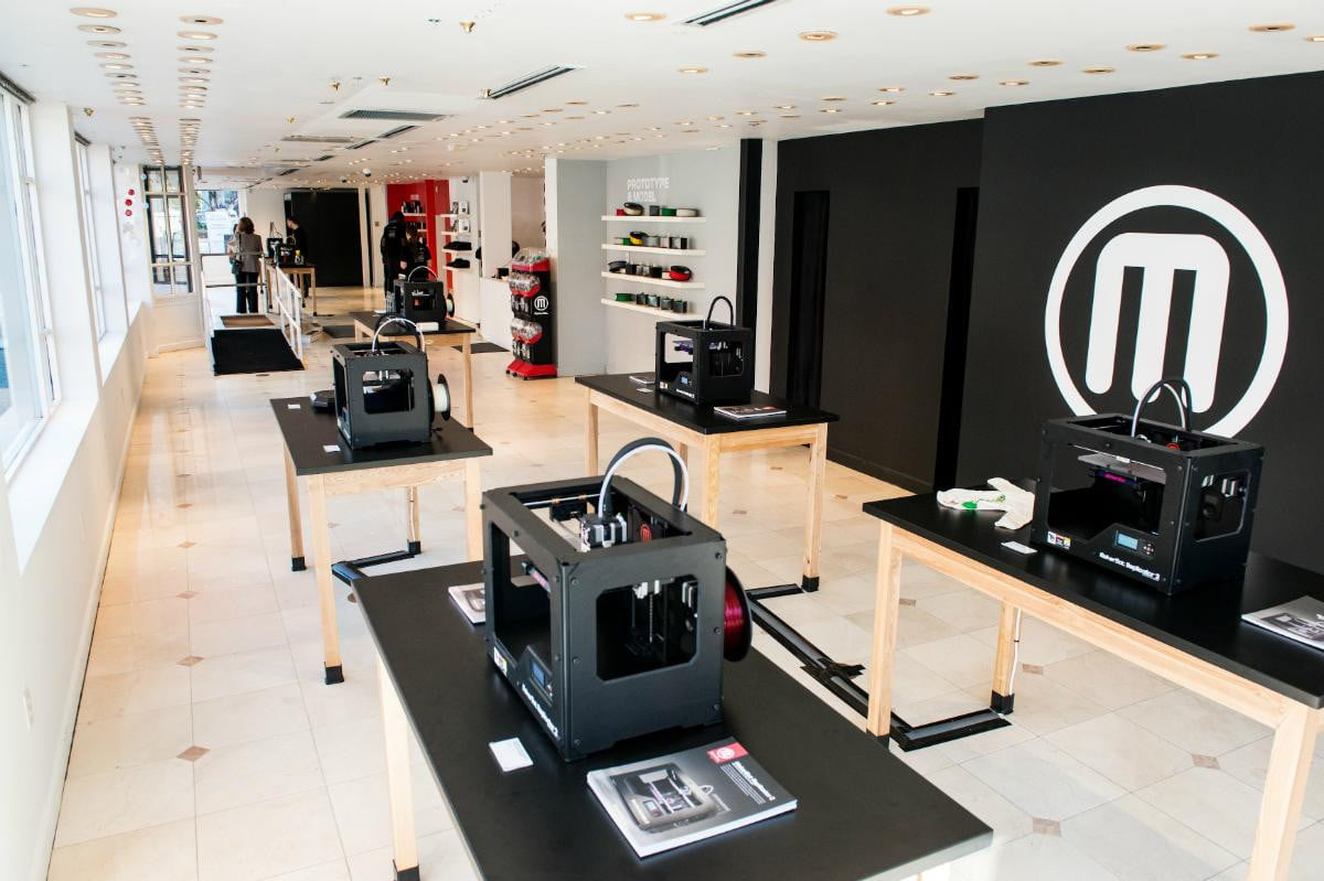 makerbot fires  percent of its staff at the order d printing companys new ceo boston retail store