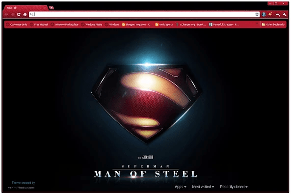 Man of Steel Theme