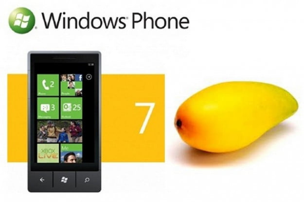 Windows Phone 7 Mango actual Mango