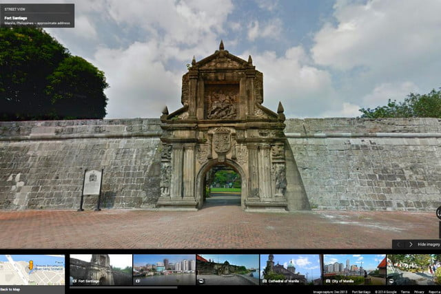 street view arrives in manila