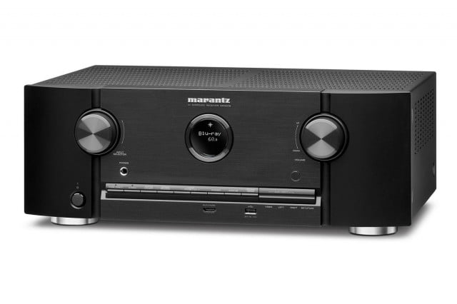 marantz new sr  network av receiver everything press image front
