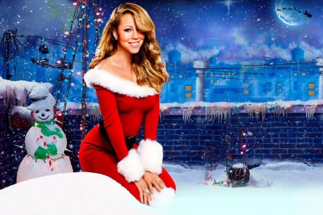 mariah carey christmas retail song dethroned shins wonderful christmastime mariahcareychristmas