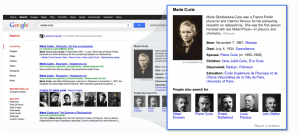 Google Knowledge Graph (Curie)