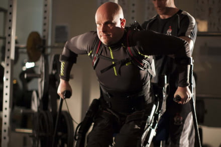 Mark Pollock bionic-suit
