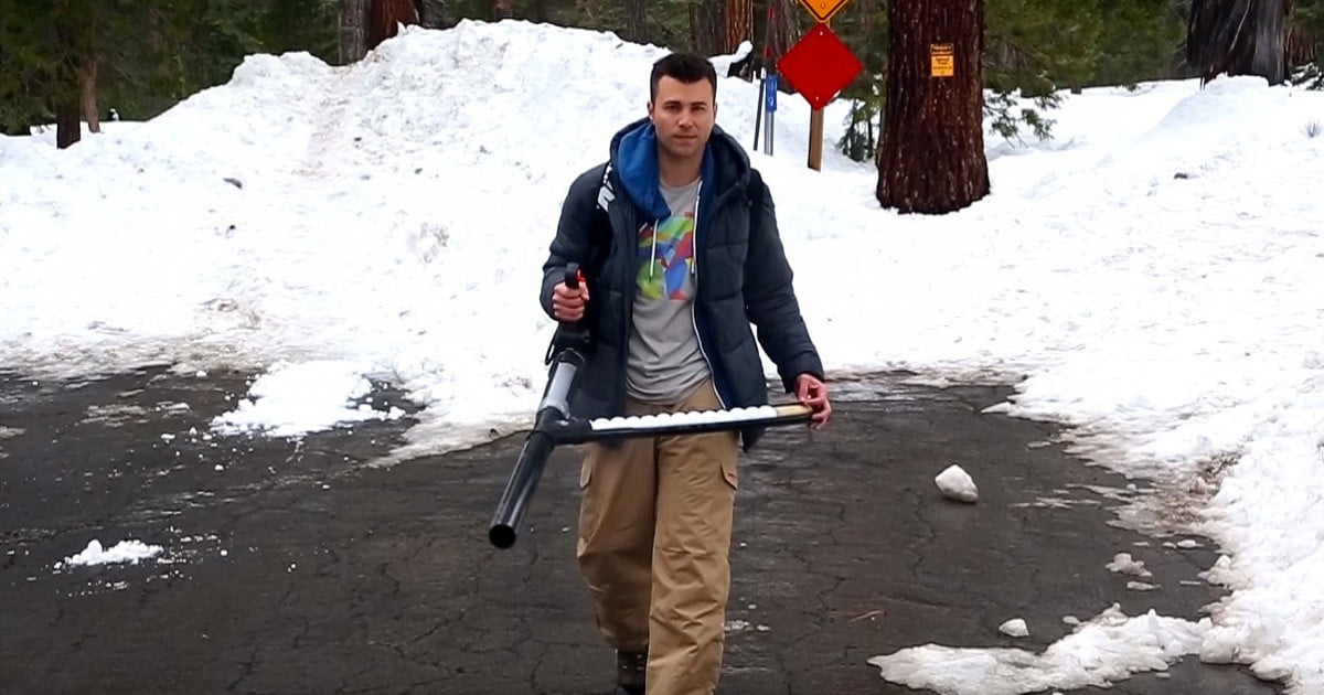 Gun Cool Cars >> How to Build a Semi-Automatic Snowball Launcher | Digital Trends