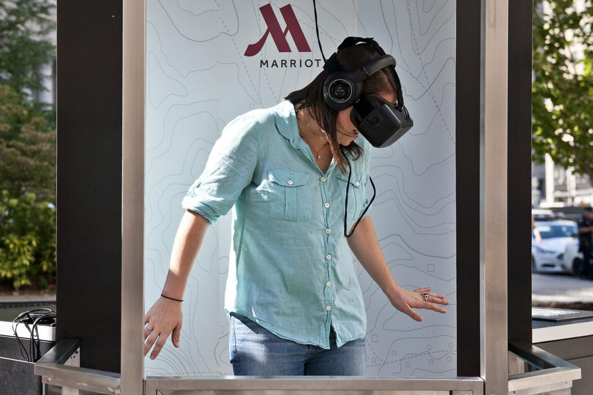 marriott oculus rift virtual real world application