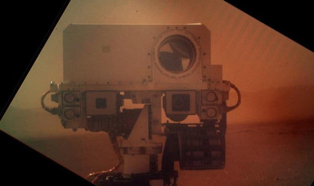 Mars rover, Curiosity's, profile photo