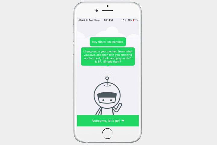 Marsbot by Foursquare
