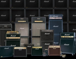 MARSHALL AMPS (all caps are necessary)