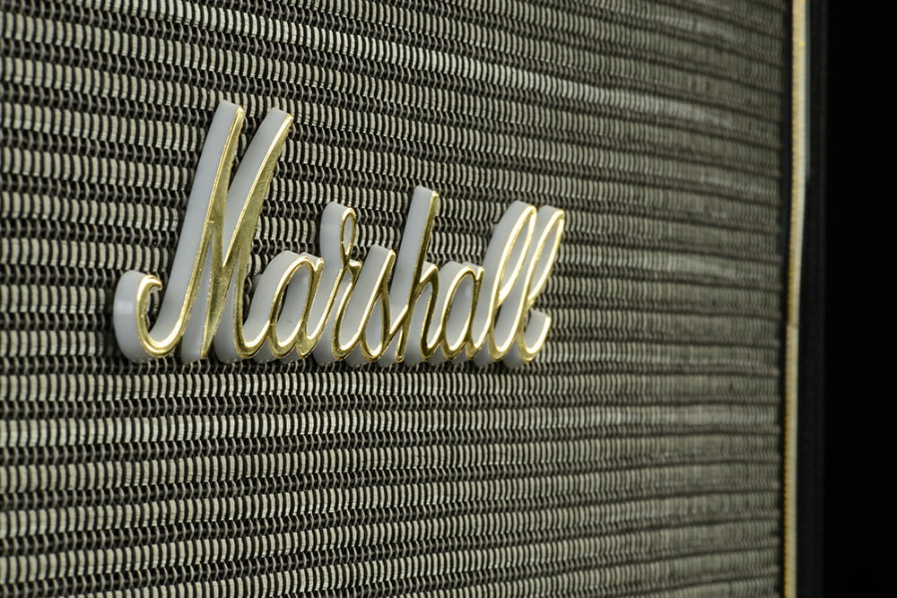 marshall hanwell speaker review grill angle
