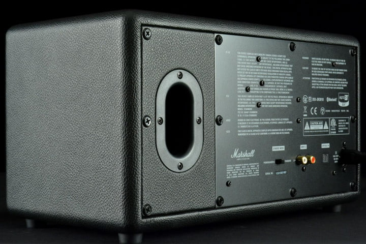 marshall stanmore review standmore bt speaker back angle