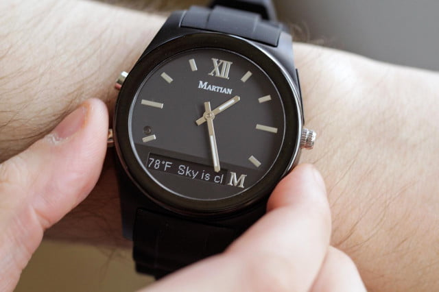 martian notifier smartwatch gets ios  support new features watch review full color