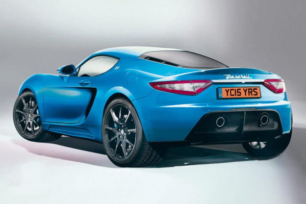 Maserati GranSpor rear render