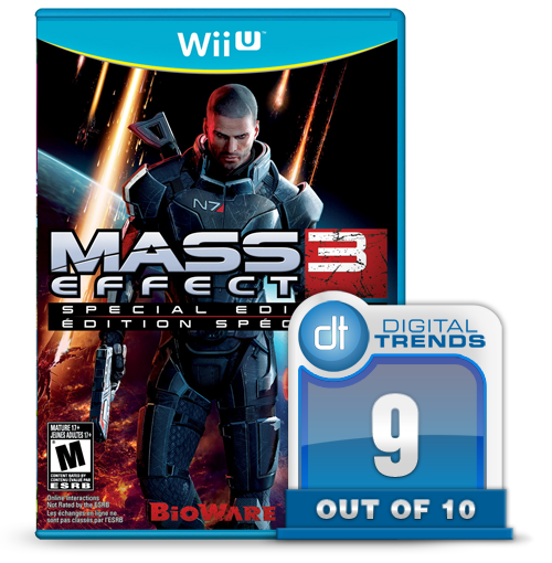 Mass Effect 3 Wii U scoregraphic