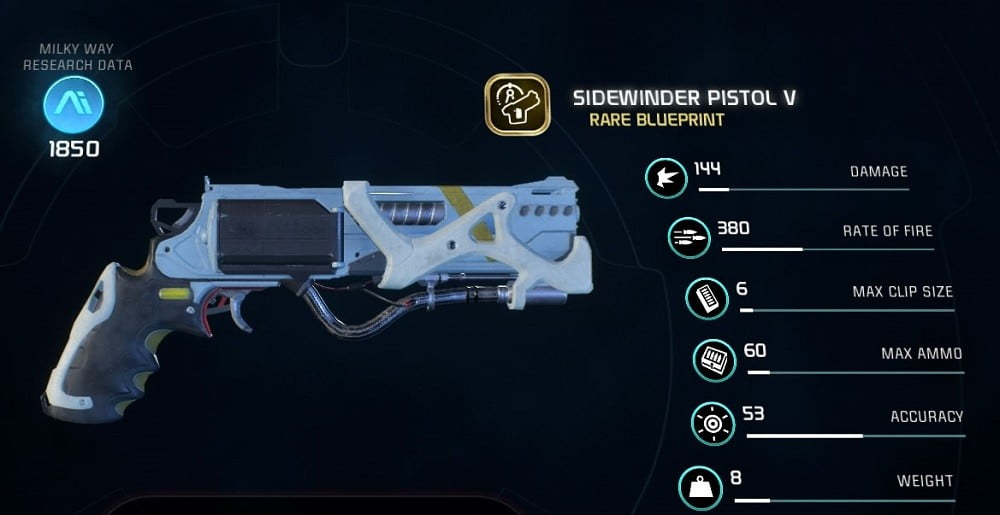 Mass Effect Andromeda X5 Ghost: The Best Weapons In 'Mass Effect: Andromeda'