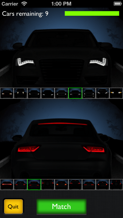 are you afraid of the dark motor recall iphone app has guessing car models at night match  inch
