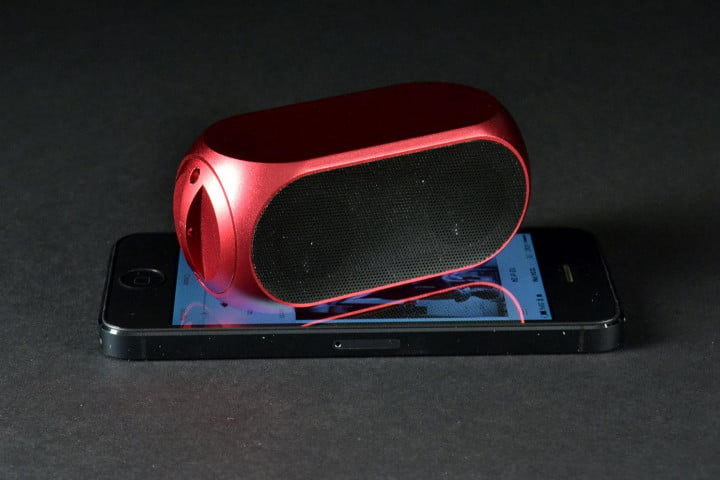 matrix audio qube  review universal bluetooth front angle iphone