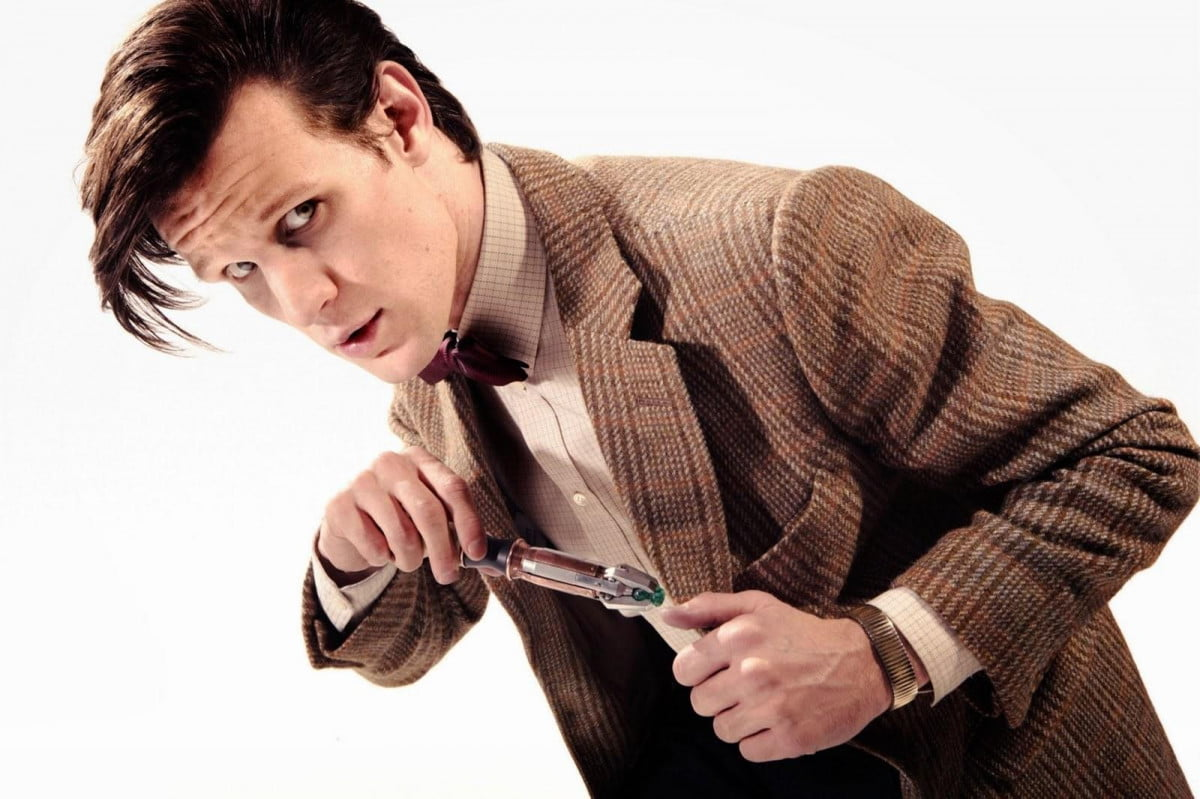 doctor whos matt smith cast major role new terminator trilogy who