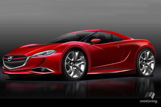 mazda rx perfomance specs pictures rendering