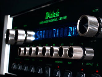 Audio equipment from McIntosh and other high-end brands often hold their value very well